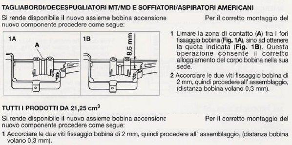 Schema Elettrico Bobina Di Accensione : Bobina accensione elettronica mcculloch